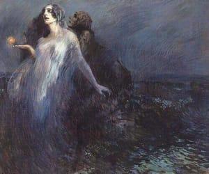 art, schizophrenic, and impressionism image
