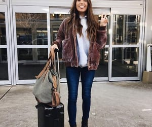 airport, autumn, and fashion image
