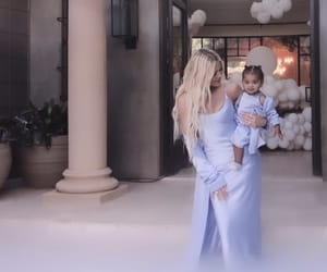 cute baby, khloe kardashian, and baby true image