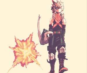 my hero academia, bakugo, and katsuki image