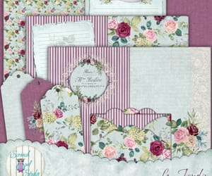 etsy, paper craft supplies, and rose garden image