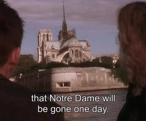 before sunset and notre dame image