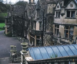 architecture, village, and castlecombe image