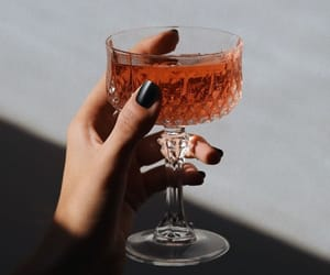 drink, glass, and nails image