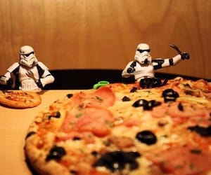 pizza, star wars, and stormtrooper image