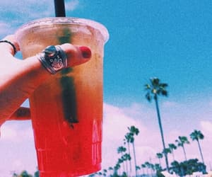 aesthetic, colorful, and drink image