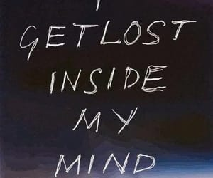 lost, quotes, and mind image
