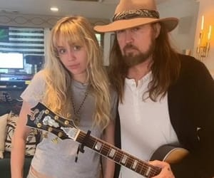hannah montana, miley cyrus, and billy ray cyrus image