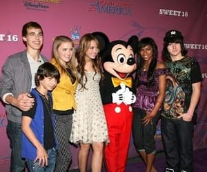 16, miley cyrus, and cast image