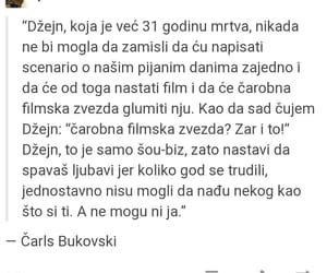 Bukowski, citati, and ljubav image
