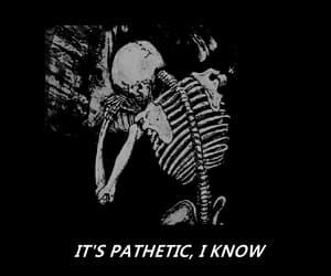 black, skeleton, and skull image