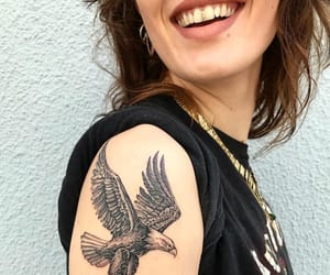 eagle, style, and tattoo image