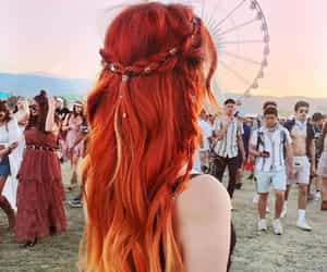 coachella and red image