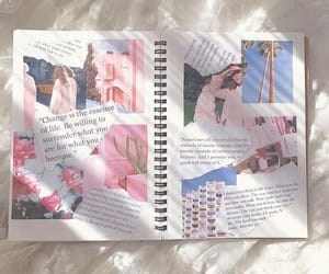 aesthetic, Collage, and diary image