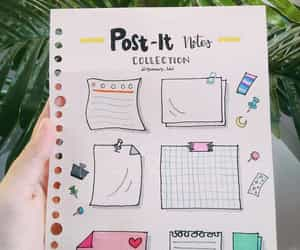 notes, planner, and post-it image