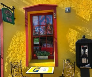 cafe and yellow image