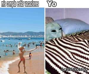 meme, Ovni, and vacaciones image