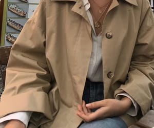 fashion, neutral, and outfit image