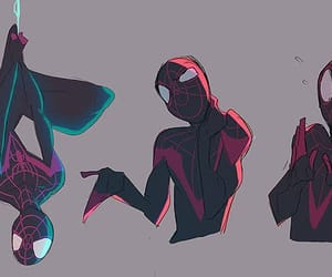 Marvel, miles morales, and spiderman image