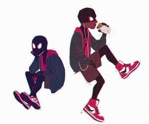 Marvel, spiderman, and miles morales image