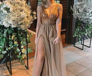 dress, gala, and elegancia image