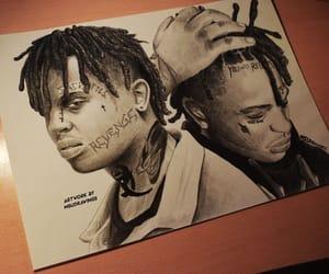 art, drawings, and pencil art image