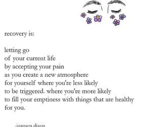 quotes, recovery, and life image