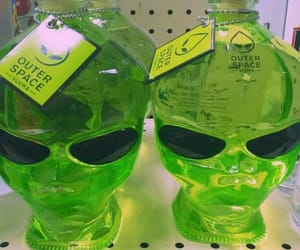 alien, green, and vodka image