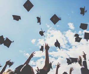 future, learn, and graduation image