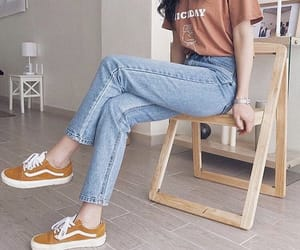 outfits, style, and vans image