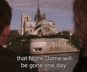 film, notre dame, and before sunset image