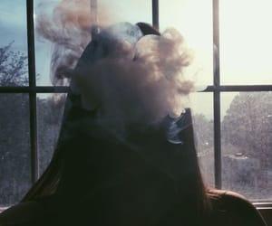 cigarette, sun, and vintage image