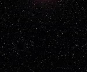 aesthetic, gif, and night sky image
