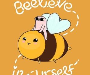 bee, believe, and wallpaper image