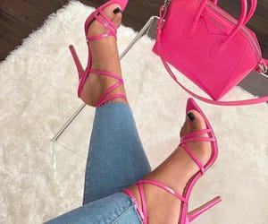 fashion, heels, and pink image