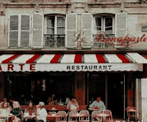 aesthetic, cafe, and paris image