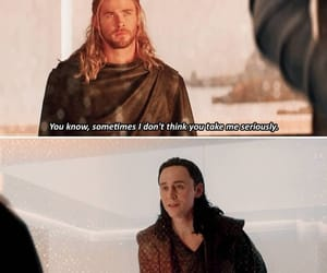 Marvel, loki, and thor image
