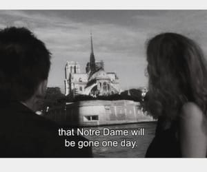 before sunset, film, and Notre Dame de Paris image