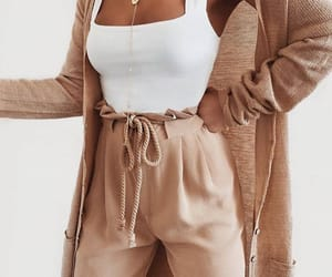 beige, fashion, and girl image