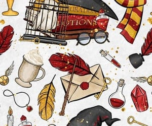 art, harry potter, and gryffindor image