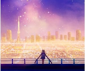 sailor moon, anime, and sky image