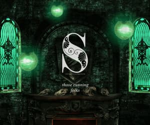 art, harry potter, and slytherin image