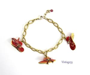 T, vintage bracelets!, and red hat society image