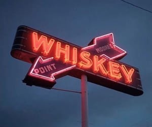 aesthetic, pink, and whiskey image