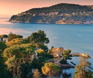 beach, france, and French Riviera image
