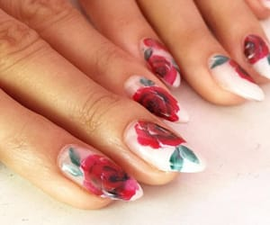 acrylic, acrylics, and roses image