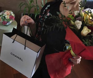 birthday, chanel, and flowers image
