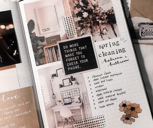 goals, journal, and aesthetic image