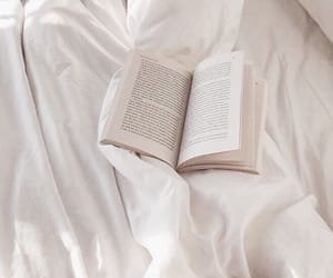 book, aesthetic, and bed image