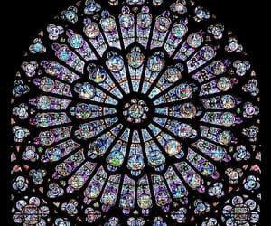 notre dame, architecture, and art image